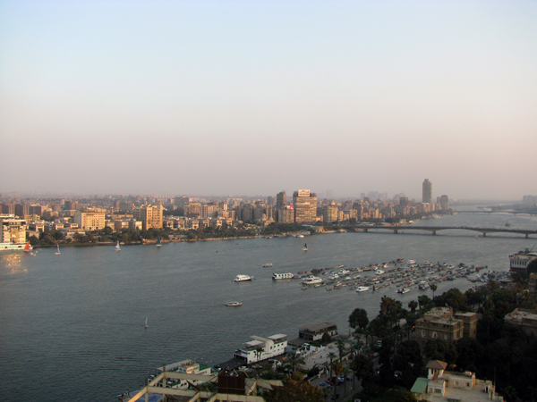 the Nile River at Cairo