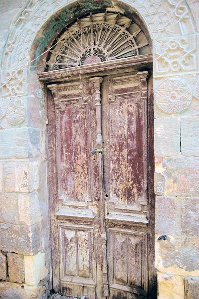 old door in Cairo