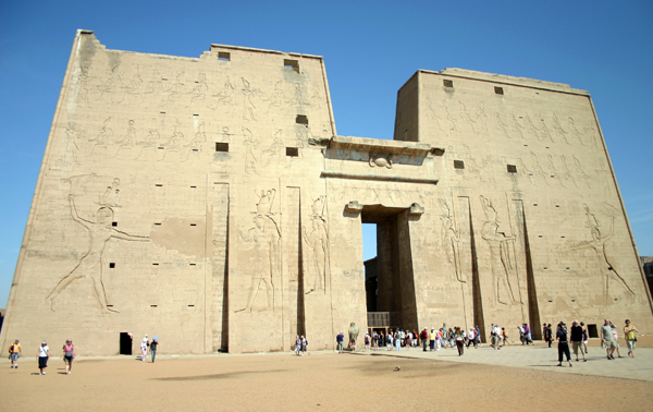 Temple of Horus, Edfu, Egypt