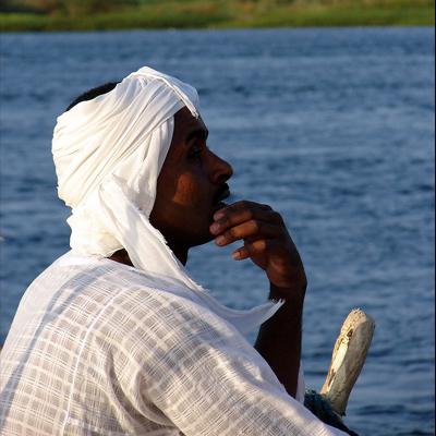 on the Nile, Egypt