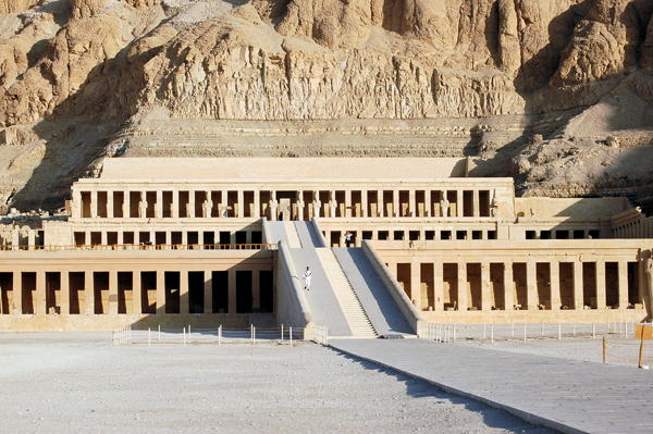 the Temple of Hatshepsut, Luxor, Egypt