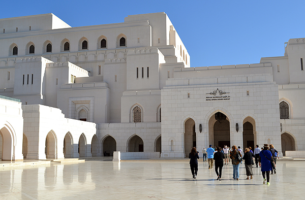 the Royal Opera House of Muscat, Oman