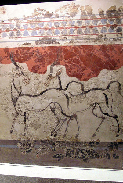Ibex Fresco from Akrotiri