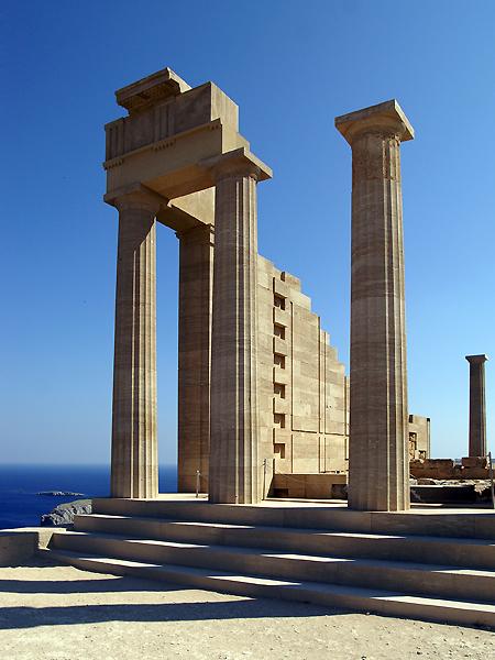 Athena Temple, Lindos, Rhodes