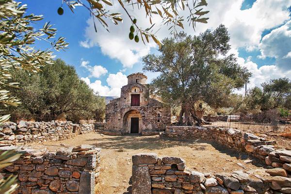 Agii Apostoli Byzantine Church, Naxos