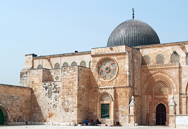 Al-Aqsa Mosque in Jerusalem