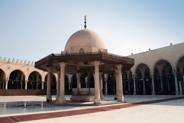 Amr ibn al-As Mosque, Cairo, Egypt