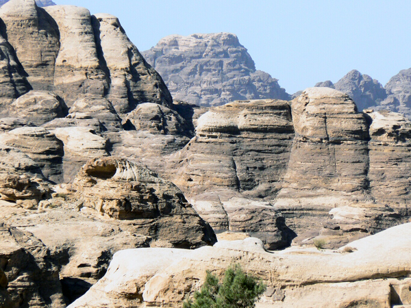 mountains around Petra