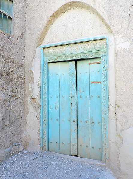 Al Hamra village, Oman, photo by Sallie Volotzky