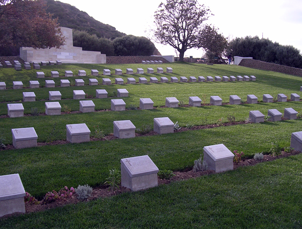WW1 cemetery at Gallipoli