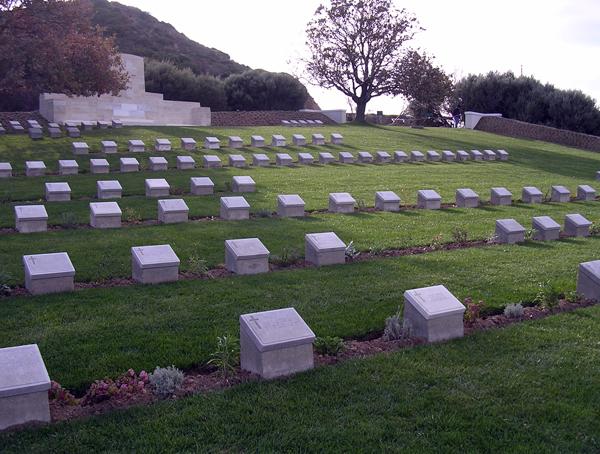 WW1 cemetery at Gallipoli