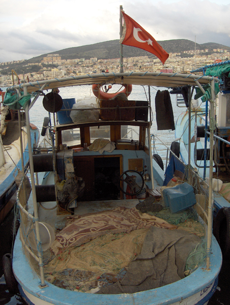 Kusadasi fishing boat