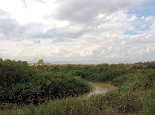 Bethany Beyond the Jordan, very likely the place where Jesus was baptised by John the Baptist