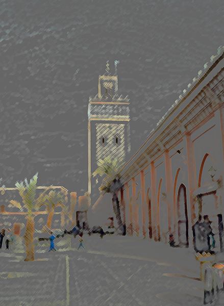 the Koutoubia Minaret, Marrakech