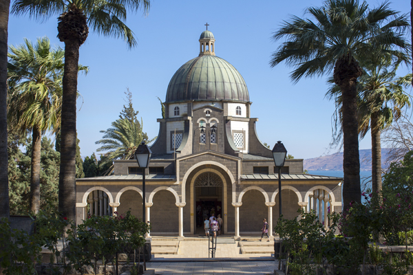 Church of the Beatitudes, photo by Itamar Grinberg, courtesy of the Israel Ministry of Tourism