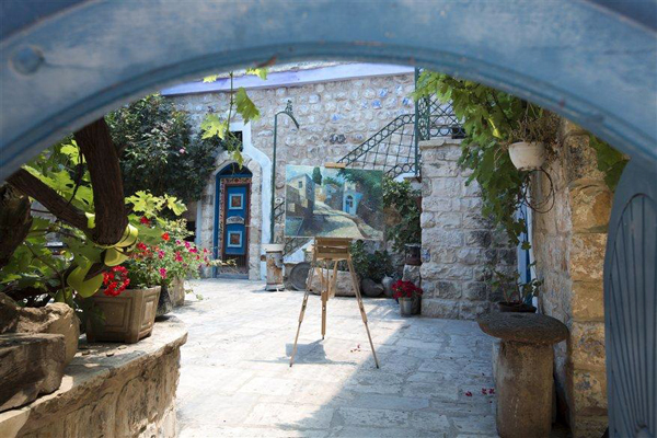 art gallery, Safed, Israel, photo by Itamar Grinberg, courtesy of IMOT