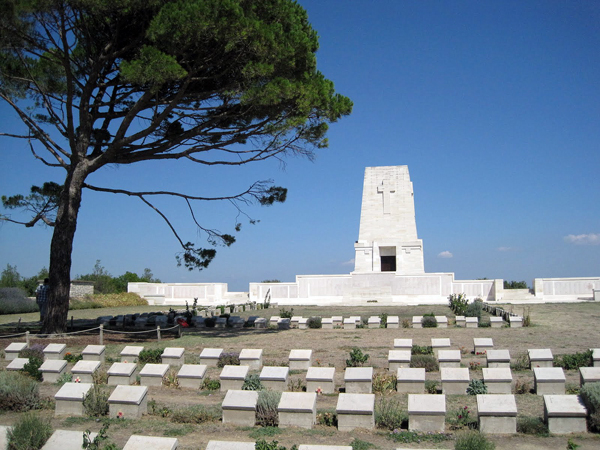 Lone Pine Memorial and Cemetery, Gallipoli