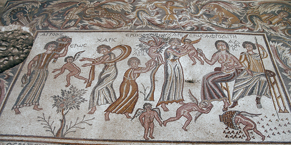 Hippolytus Hall mosaic, Madaba Archaeological Park