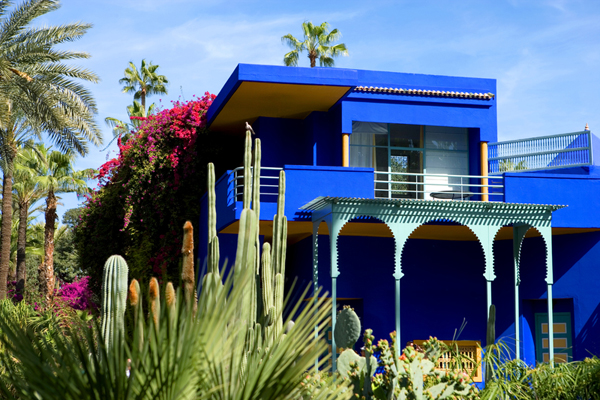 Jacques Majorelle's villa/studio, now the Berber Museum