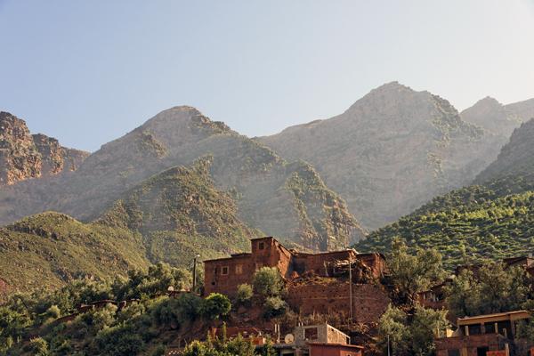 Ourika Valley, High Atlas Mountains, Morocco