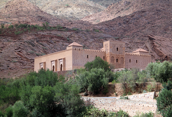 the Tin Mal Mosque, Ouirgane Valley, High Atlas Mountains, Morocco