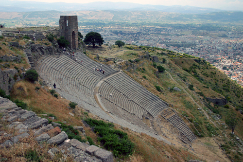 theater at Pergamum, Turkey