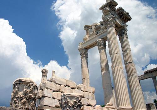 Temple of Trajan, Pergamum, Turkey