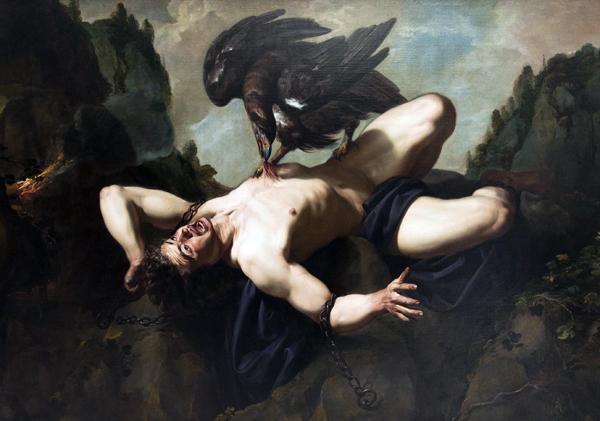 Prometheus, Theodoor Rombouts, 1620