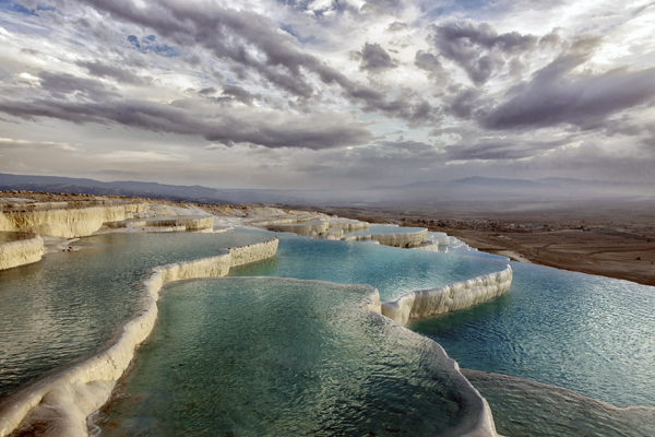 travertine terraces, Pamukkale