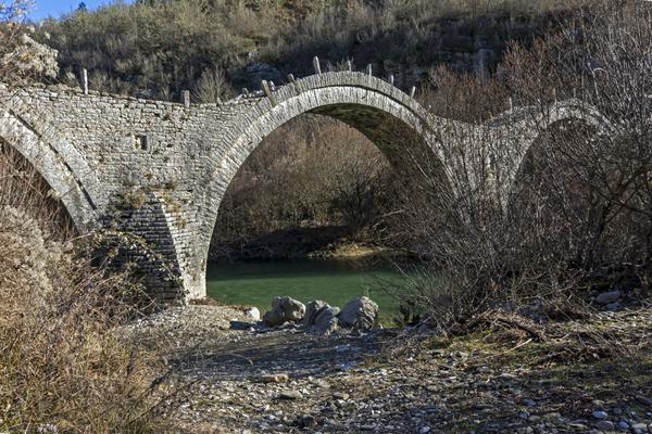 one of many stone bridges in the Zagori
