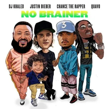 Chords Dj Khaled No Brainer Ft Justin Bieber Chance The Rapper
