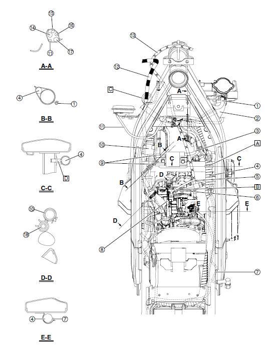 yamaha yzf 750 r wiring diagram auto electrical wiring diagramyamaha yzf 750 r wiring diagram