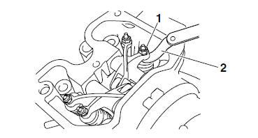 Yamaha YZF-R125 Service Manual: Adjusting the valve