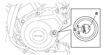 Yamaha YZF-R125 Service Manual: Checking the ignition