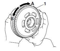 Yamaha YZF-R125 Service Manual: Checking the starter