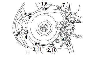 Yamaha YZF-R125 Service Manual: Installing the generator