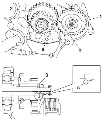 Yamaha YZF-R125 Service Manual: Installing the primary