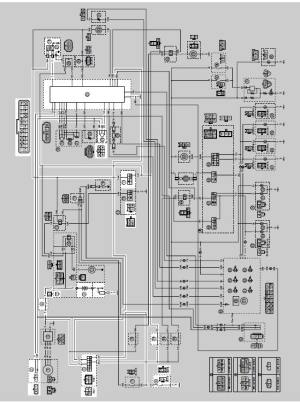 Yamaha YZFR125 Service Manual: Circuit diagram  Ignition system  Electrical system