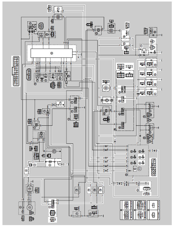 Yamaha YZF-R125 Service Manual: Circuit diagram