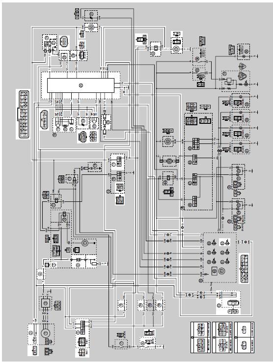 Yamaha Fuel Injector Wiring Diagram. Fuse Box. Auto Wiring