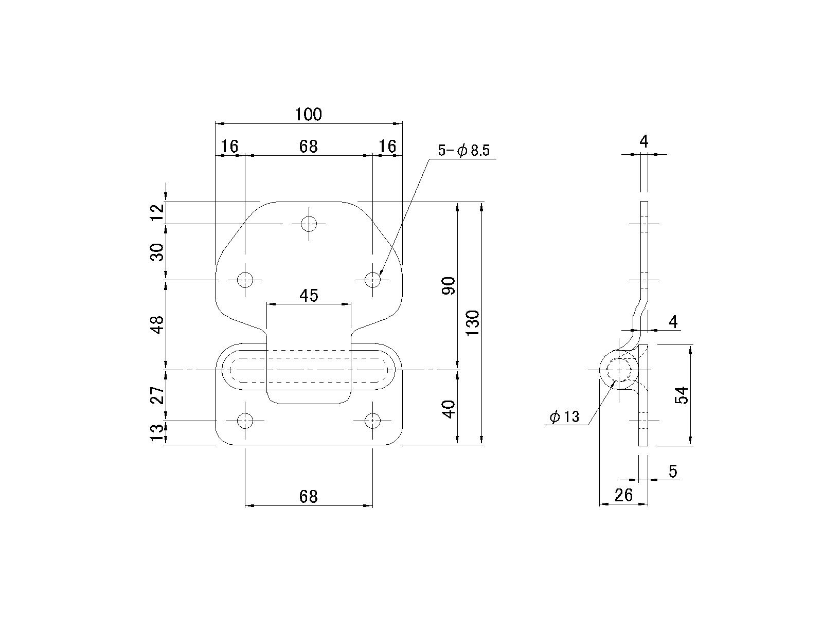 hight resolution of enlarge the image with the new block hinge stainless outside groove stage