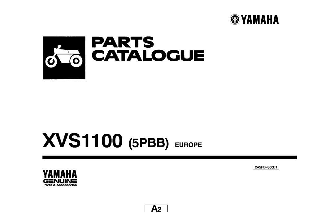 xvs1100 parts catalogue.pdf (1.3 MB)