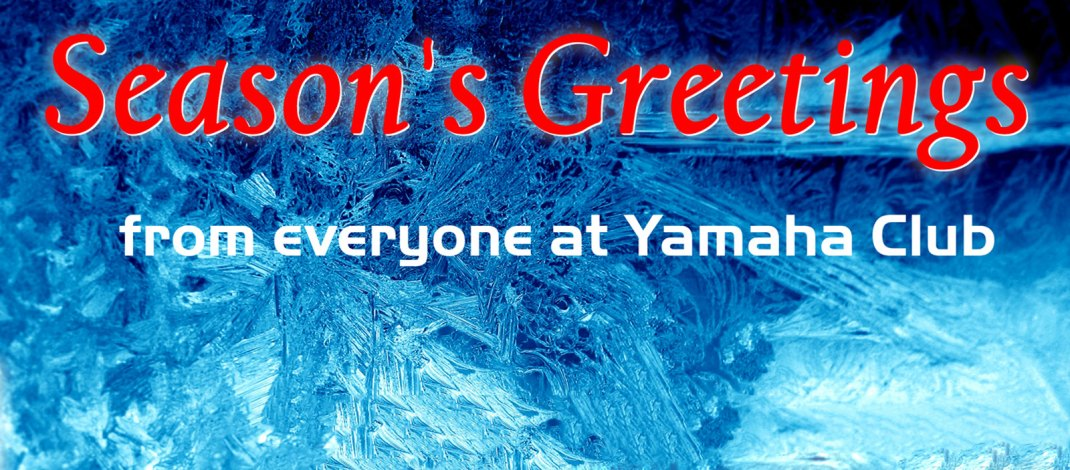 Season's greetings from Yamaha Club
