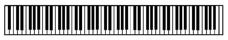 88 key piano keyboard diagram hitec servo wiring pictures of layout keys kidskunst info www imgkid com the image