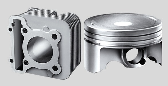 Forged Piston & DiASil Cylinder