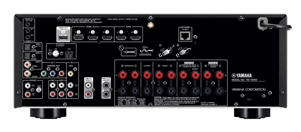 medium resolution of rx v683 network av receiver discontinued