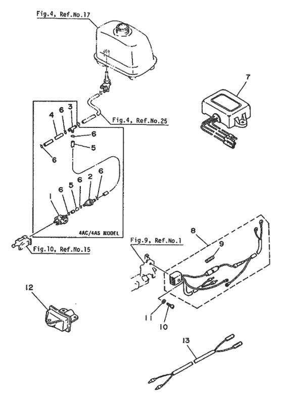 Yamaha Reservdelar / 4 CMHS/L 4A (6E0) / Europe (999) / 4