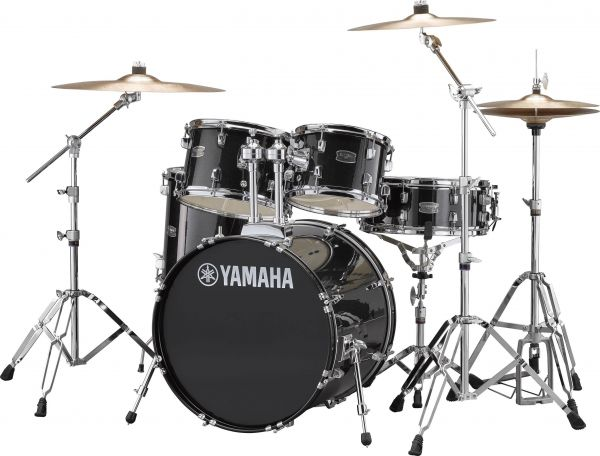 Yamaha GM0F5BLG Gigmaker Drum Kit With Cymbal, Hi-Hat