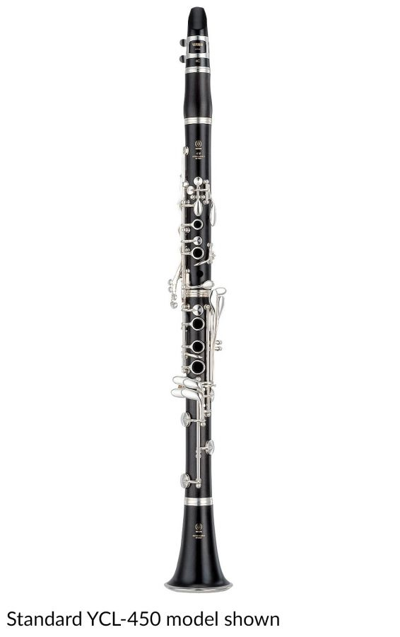 Yamaha YCL-450E Mk III Bb Clarinet with Eb Lever With