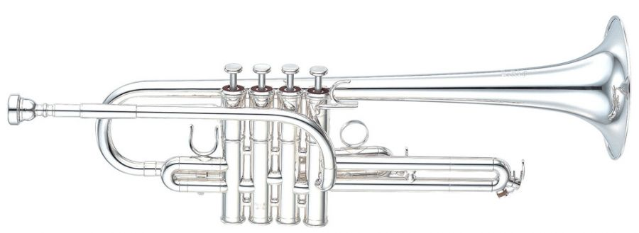 Yamaha YTR-9630 4-Valve Eb Trumpet Custom Series model in